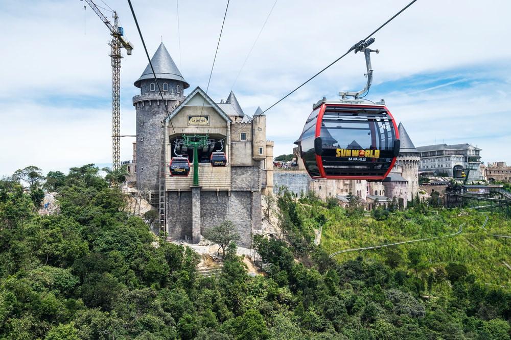 Cable Car, Ba Na Hills.